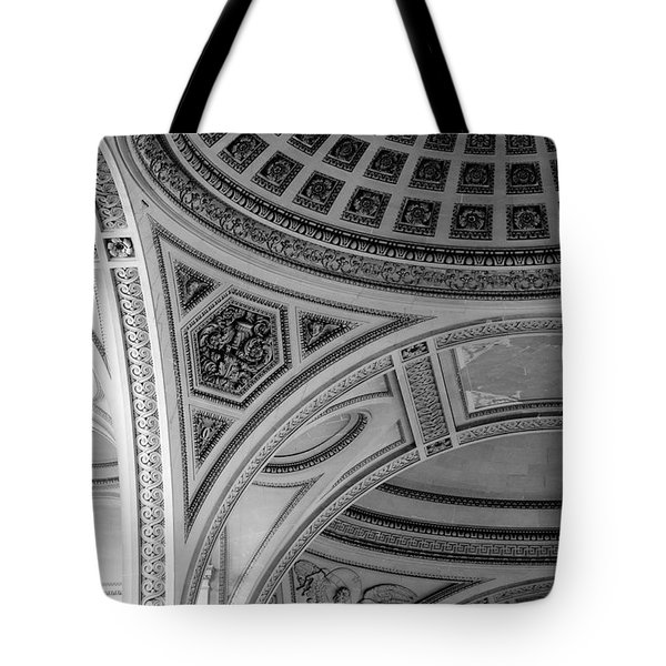 Pantheon Arches Tote Bag by Sebastian Musial