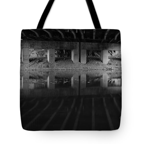 Parallel Universe Tote Bag by Luke Moore