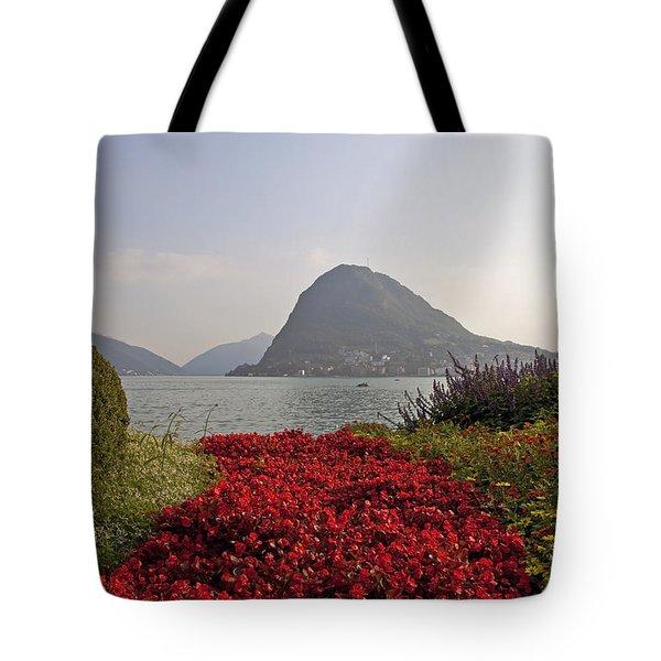 Parco Civico Lugano Tote Bag by Joana Kruse