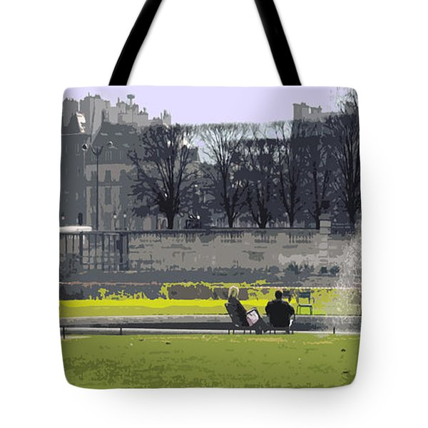 Paris 02 Tote Bag by Yuriy  Shevchuk