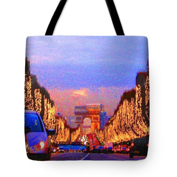 Paris 04 Tote Bag by Yuriy  Shevchuk