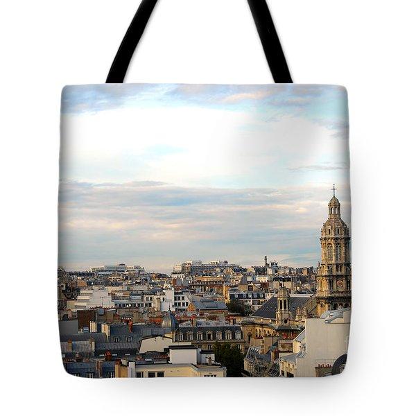 Paris Rooftops Tote Bag by Elena Elisseeva