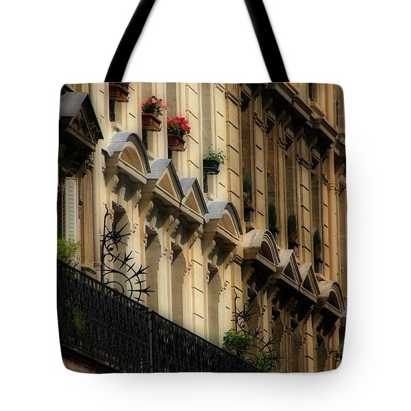 Paris Windows Tote Bag by Andrew Fare