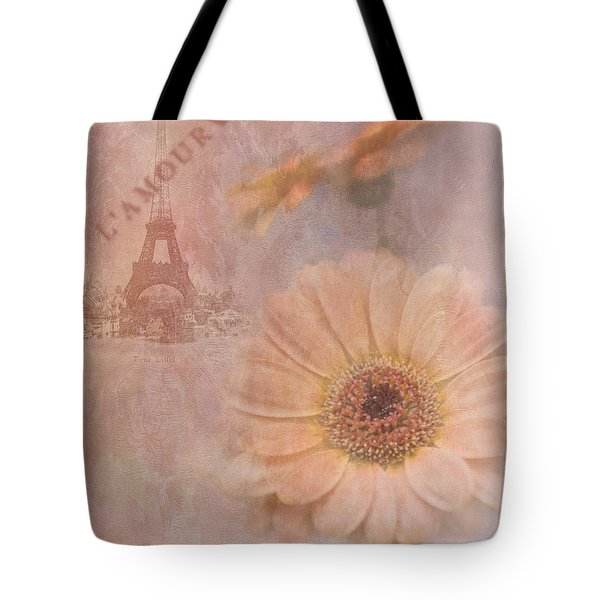 Parisian Oooo La La Tote Bag by Betty LaRue