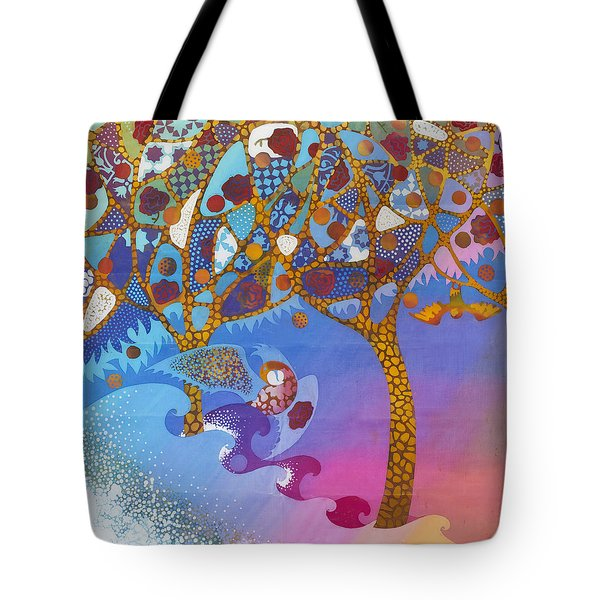Park Guell. General Impression. Tote Bag by Kate Krivoshey