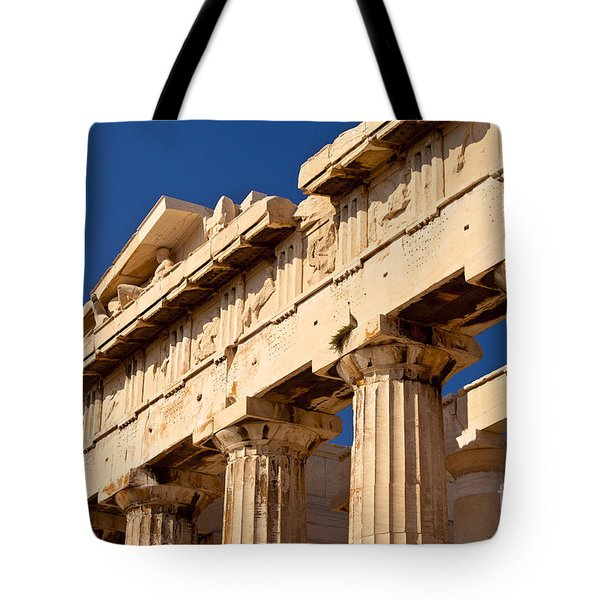 Parthenon Tote Bag by Brian Jannsen