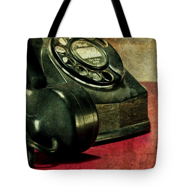 Party Line II Tote Bag by Tom Mc Nemar