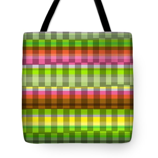 Party Stripe Tote Bag by Louisa Knight