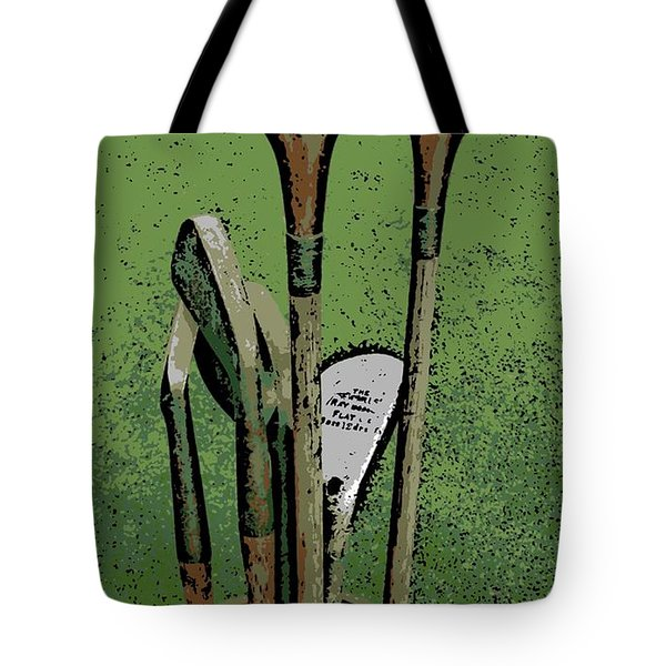 Pass Me The Hickory Tote Bag by George Pedro