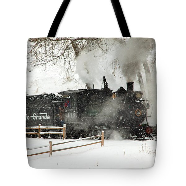 Passing The Fence Tote Bag by Ken Smith