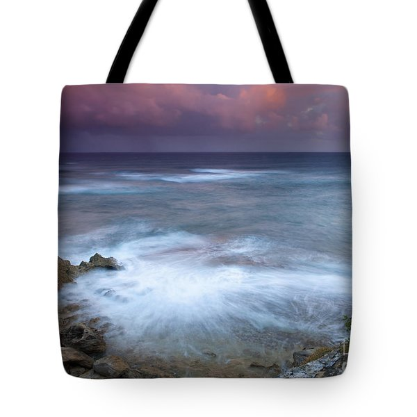 Pastel Storm Tote Bag by Mike  Dawson