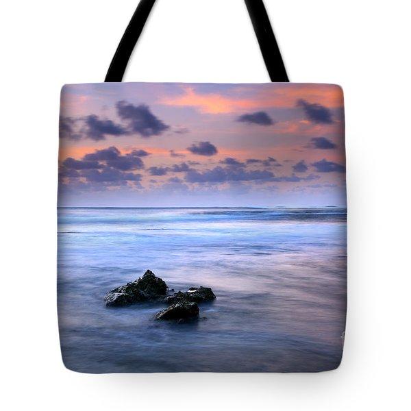 Pastel Tides Tote Bag by Mike  Dawson