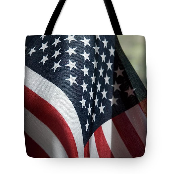 Patriotism Tote Bag by Jerry McElroy