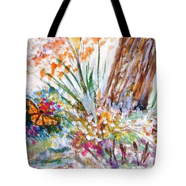 Peace Tote Bag by Edie Schmoll