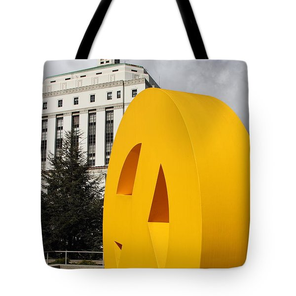 Peace From The Oakland Museum to The Supreme Court of California . County of Alameda . 7D13423 Tote Bag by Wingsdomain Art and Photography