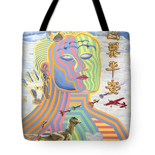 Peace on Earth 1989 Tote Bag by Wingsdomain Art and Photography