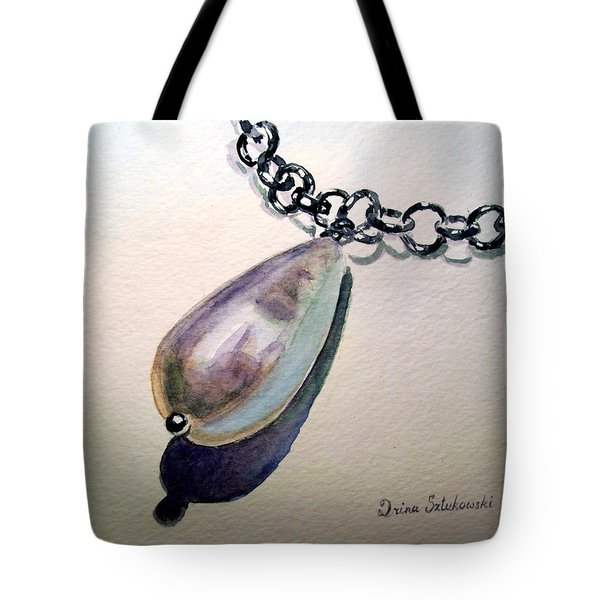 Pearl Tote Bag by Irina Sztukowski