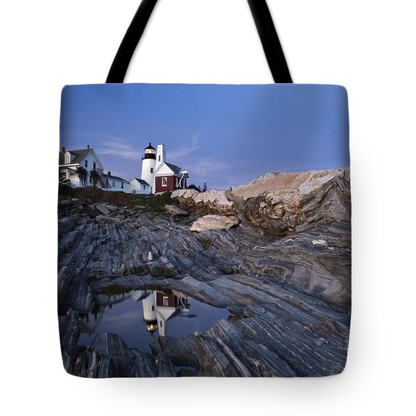 Pemaquid Point Lighthouse - D002139 Tote Bag by Daniel Dempster