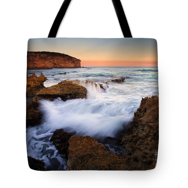 Pennington Pastel Sunset Tote Bag by Mike  Dawson