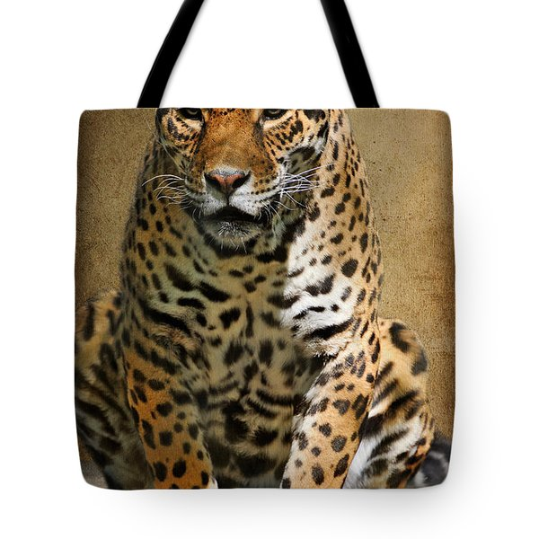 Pensive Tote Bag by Lois Bryan