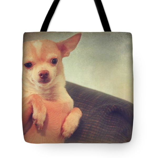 Perched Up High Tote Bag by Laurie Search