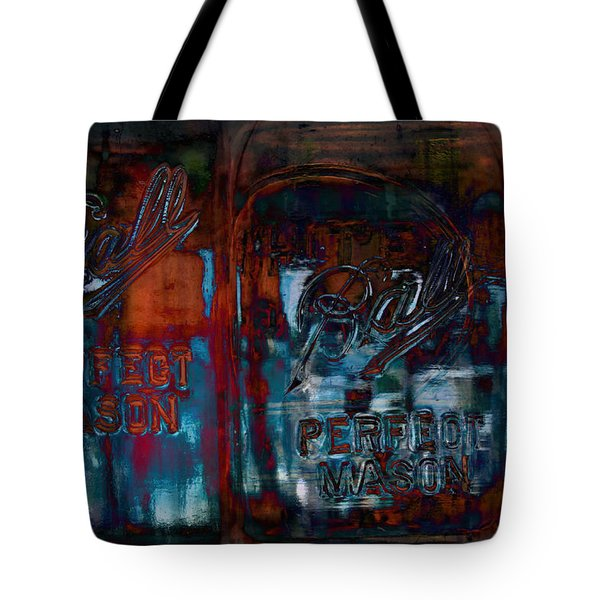 Perfect Mason Tote Bag by Ron Jones
