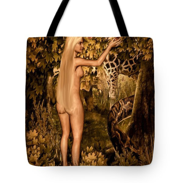 Persuaded Tote Bag by Lourry Legarde