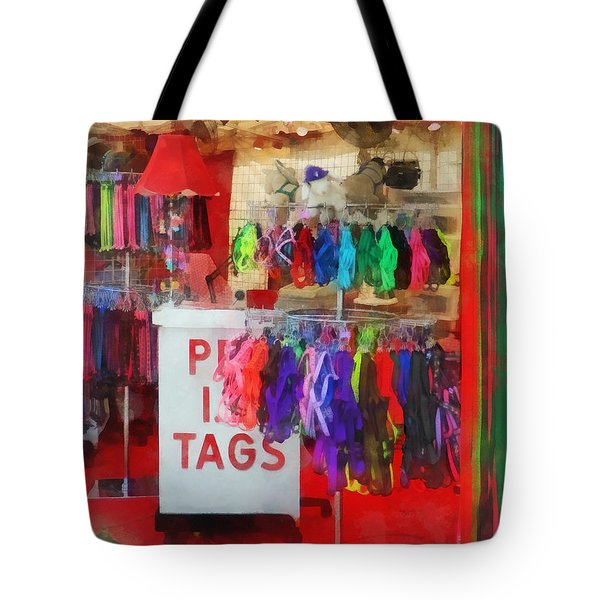 Pet Leashes And Harnesses For Sale Tote Bag by Susan Savad