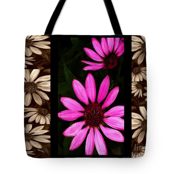 Petal Collage Tote Bag by Cheryl Young