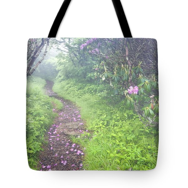 Petaled Path Tote Bag by Rob Travis