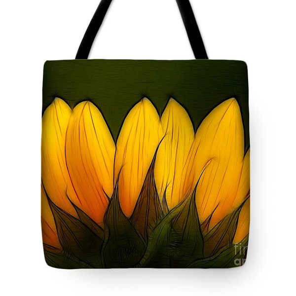 Petales De Soleil - A12 Tote Bag by Variance Collections