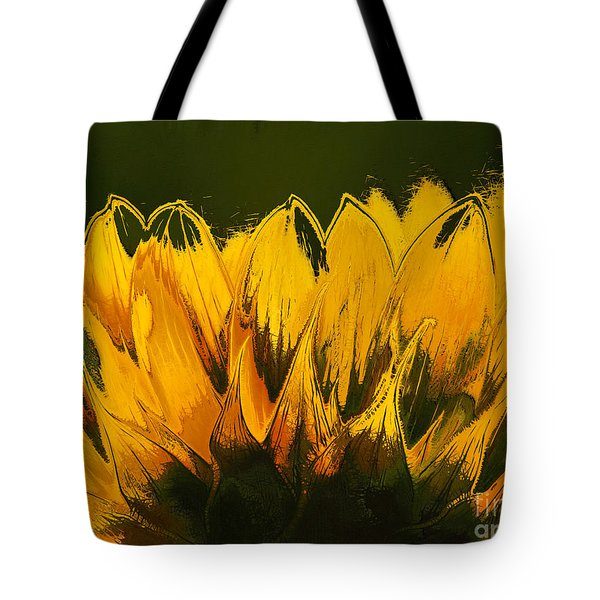 Petales de Soleil - a41b Tote Bag by Variance Collections