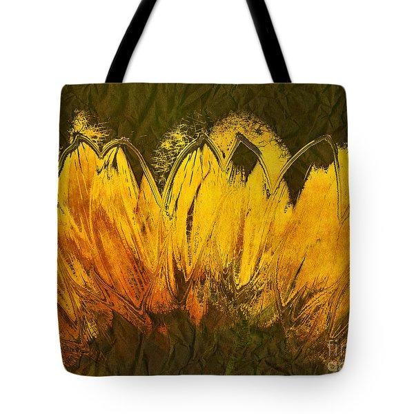 Petales de Soleil - a43t02b Tote Bag by Variance Collections