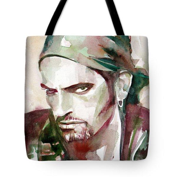 Peter Steele Portrait.6 Tote Bag by Fabrizio Cassetta