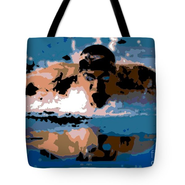 Phelps 1 Tote Bag by George Pedro