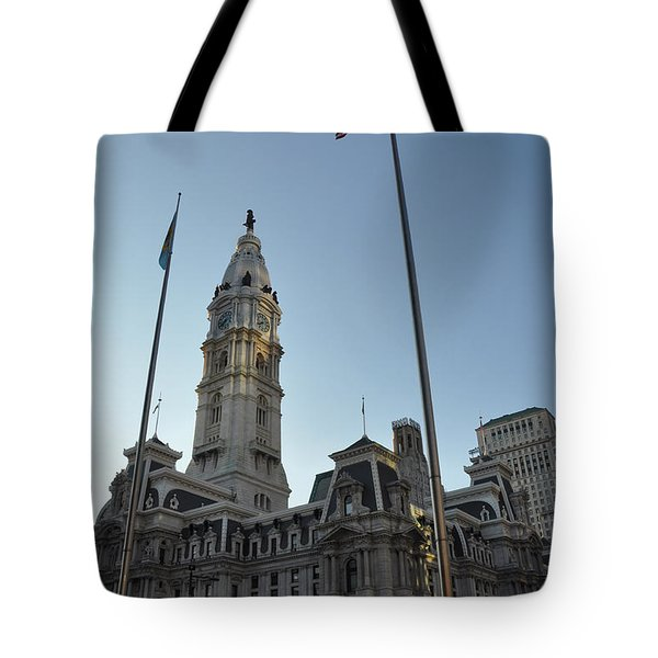 Philadelphia City Hall  Tote Bag by Bill Cannon