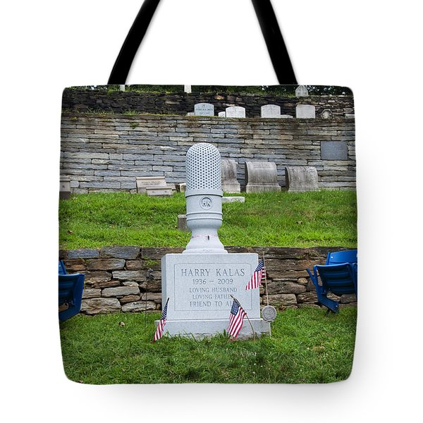 Phillies Harry Kalas' Grave Tote Bag by Bill Cannon