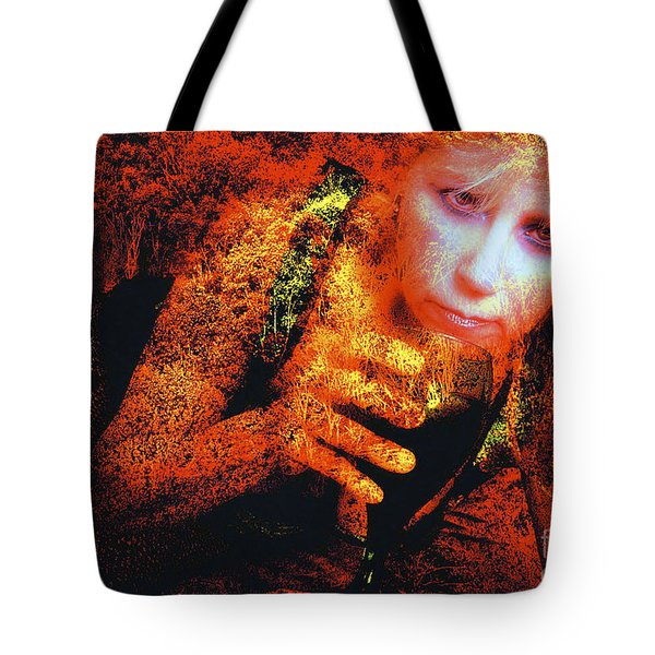 Picnic In The Forest Tote Bag by Clayton Bruster