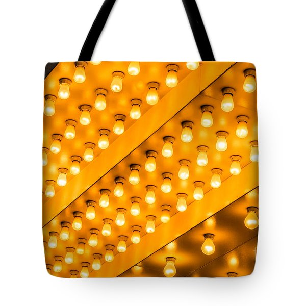 Picture of Theater Lights Tote Bag by Paul Velgos