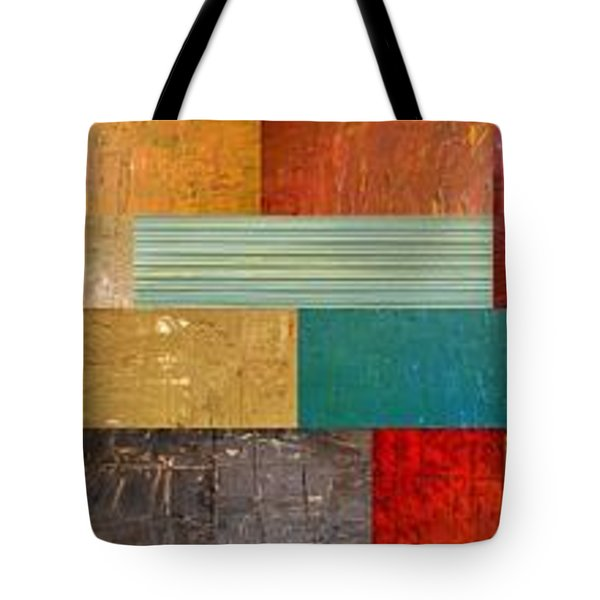Pieces Project V Tote Bag by Michelle Calkins