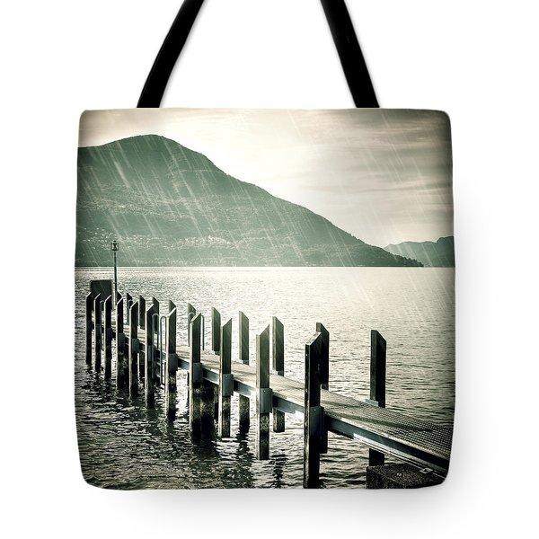 pier Tote Bag by Joana Kruse