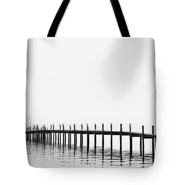 Pier Tote Bag by Skip Nall
