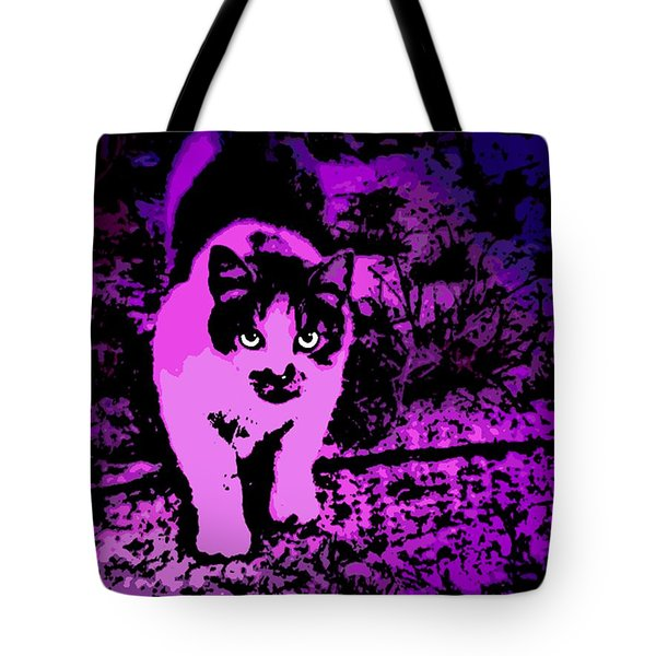 Piercing Gaze Tote Bag by George Pedro