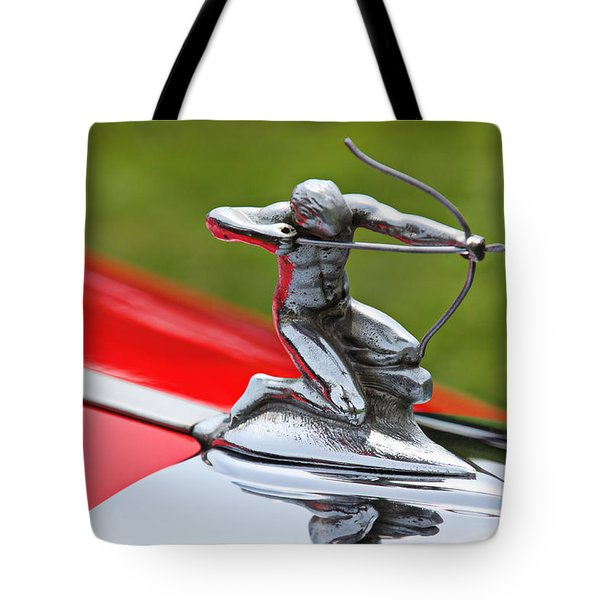 Piere-Arrow hood ornament Tote Bag by Garry Gay