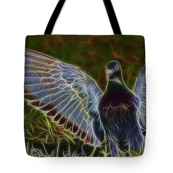 Pigeon Spirit Tote Bag by Deborah Benoit