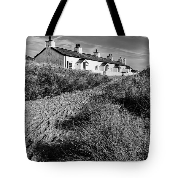 Pilots Cottages Tote Bag by Adrian Evans