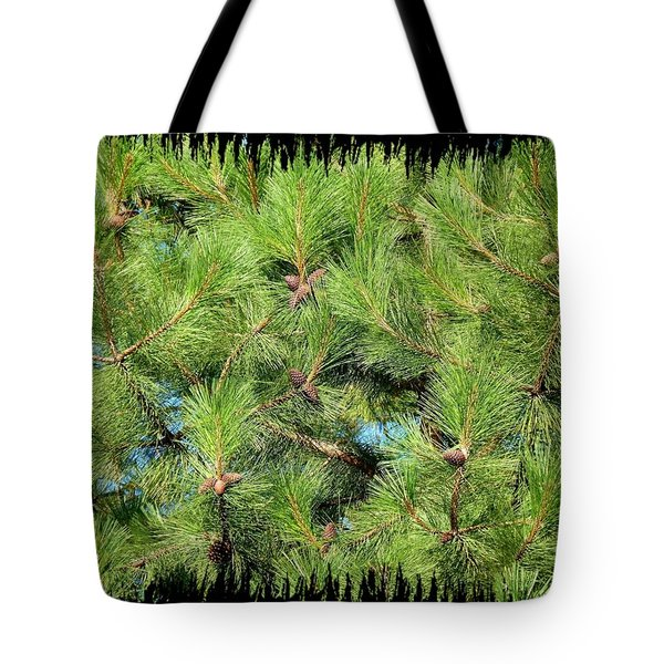 Pine Cones And Needles Tote Bag by Will Borden