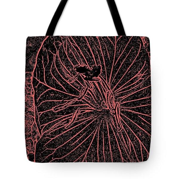 Pink Engraving  Tote Bag by Chris Berry