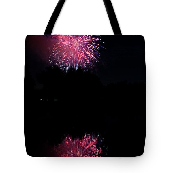 Pink Fireworks Tote Bag by James BO  Insogna