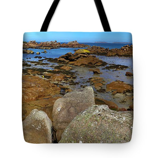 Pink Granite Coast Tote Bag by Heiko Koehrer-Wagner